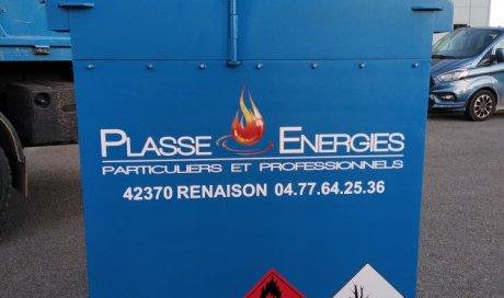cuve de ravitaillement GNR à Renaison